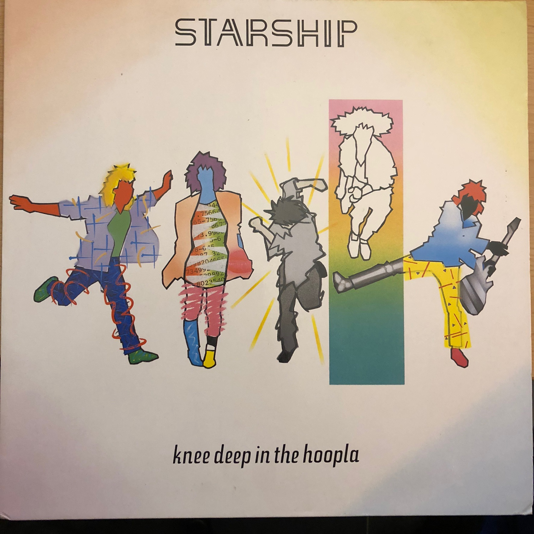 Starship - Knee deep in the hoopla Front Cover