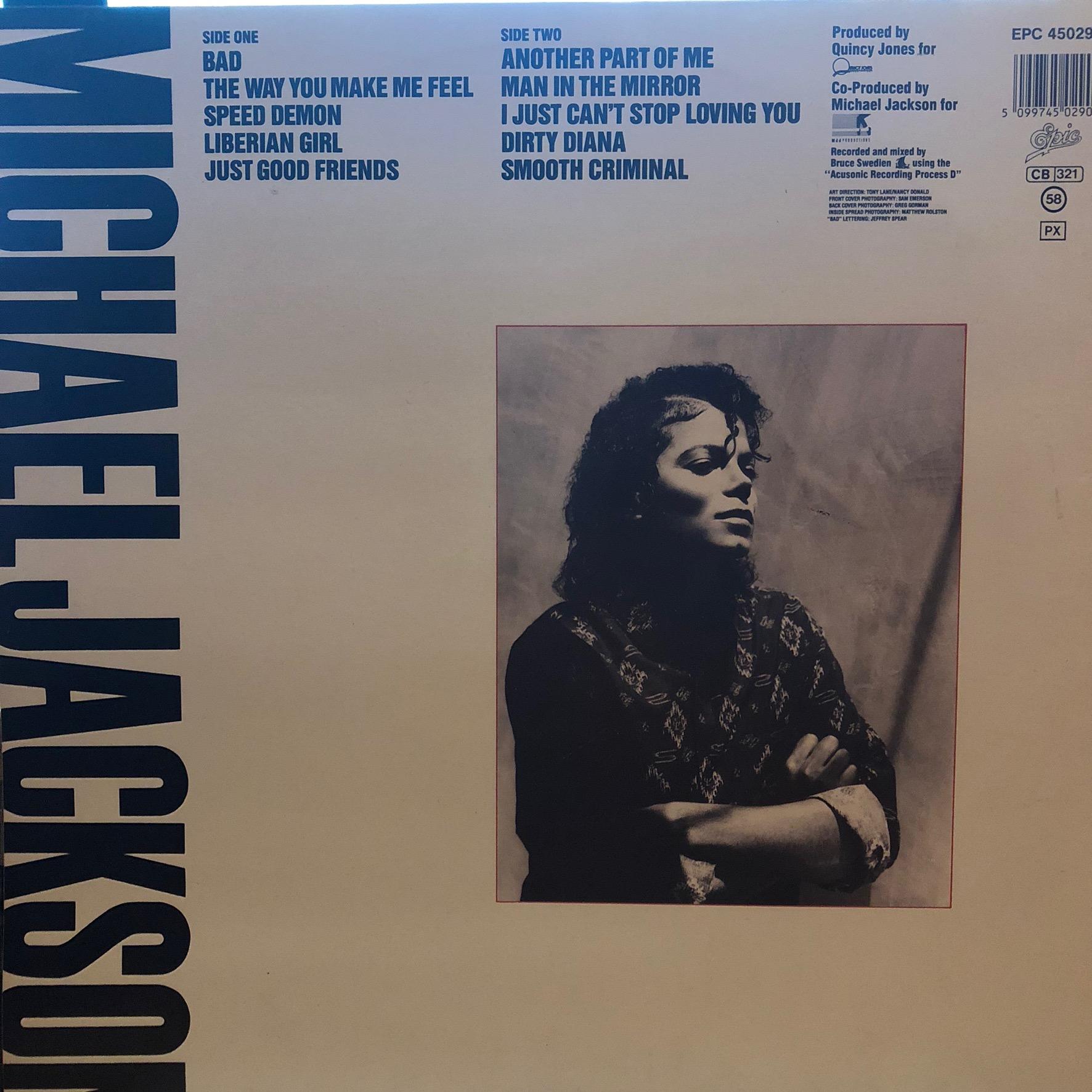 Michael Jackson - Bad - Cover