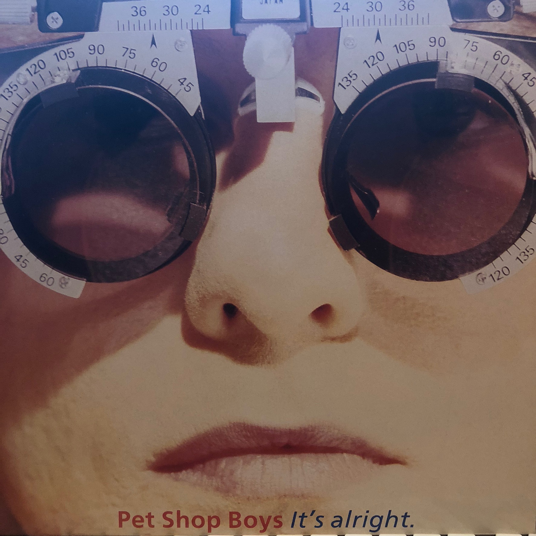 Pet Shop Boys - It's alright - Front Cover