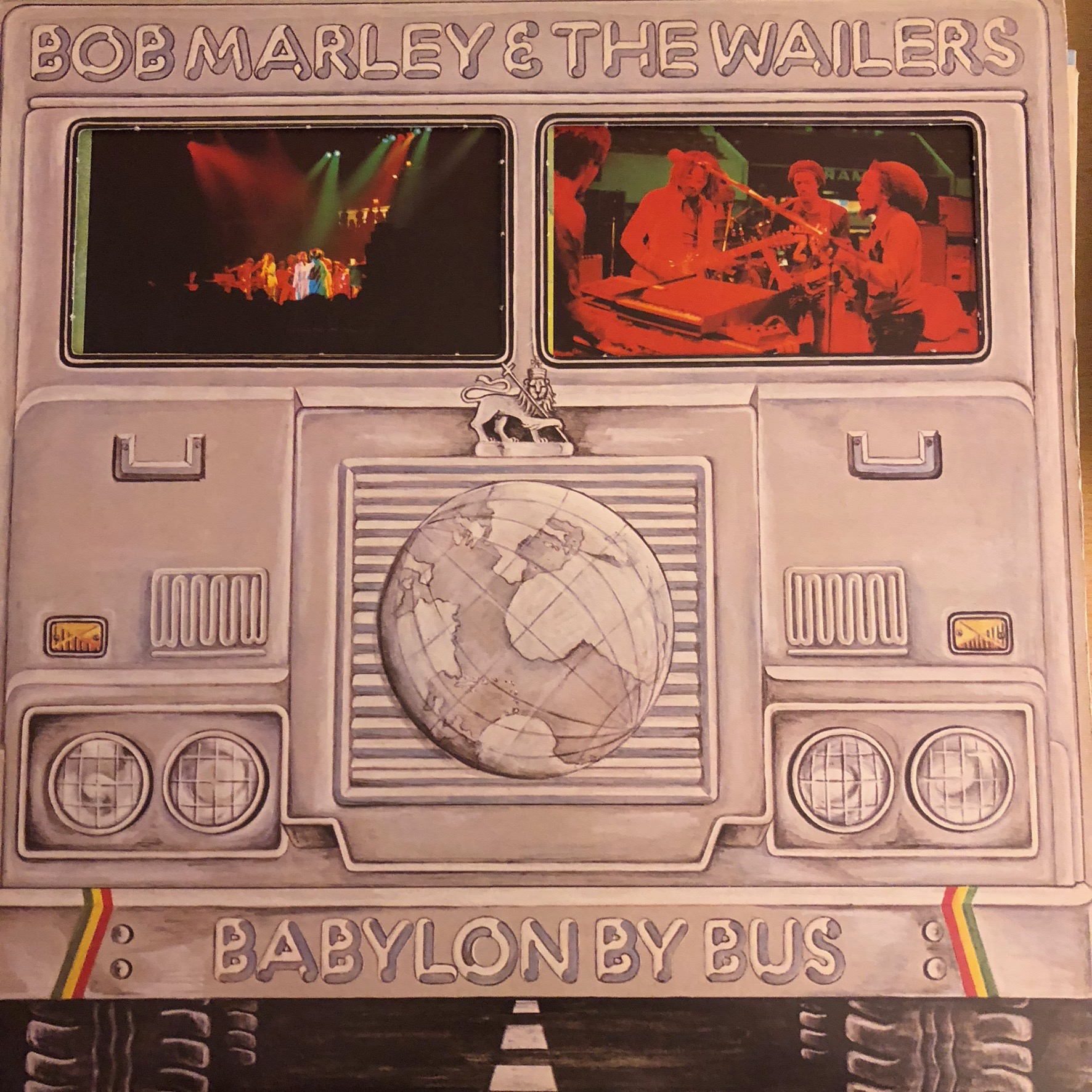 Bob Marley - Babylon by bus - Front Cover