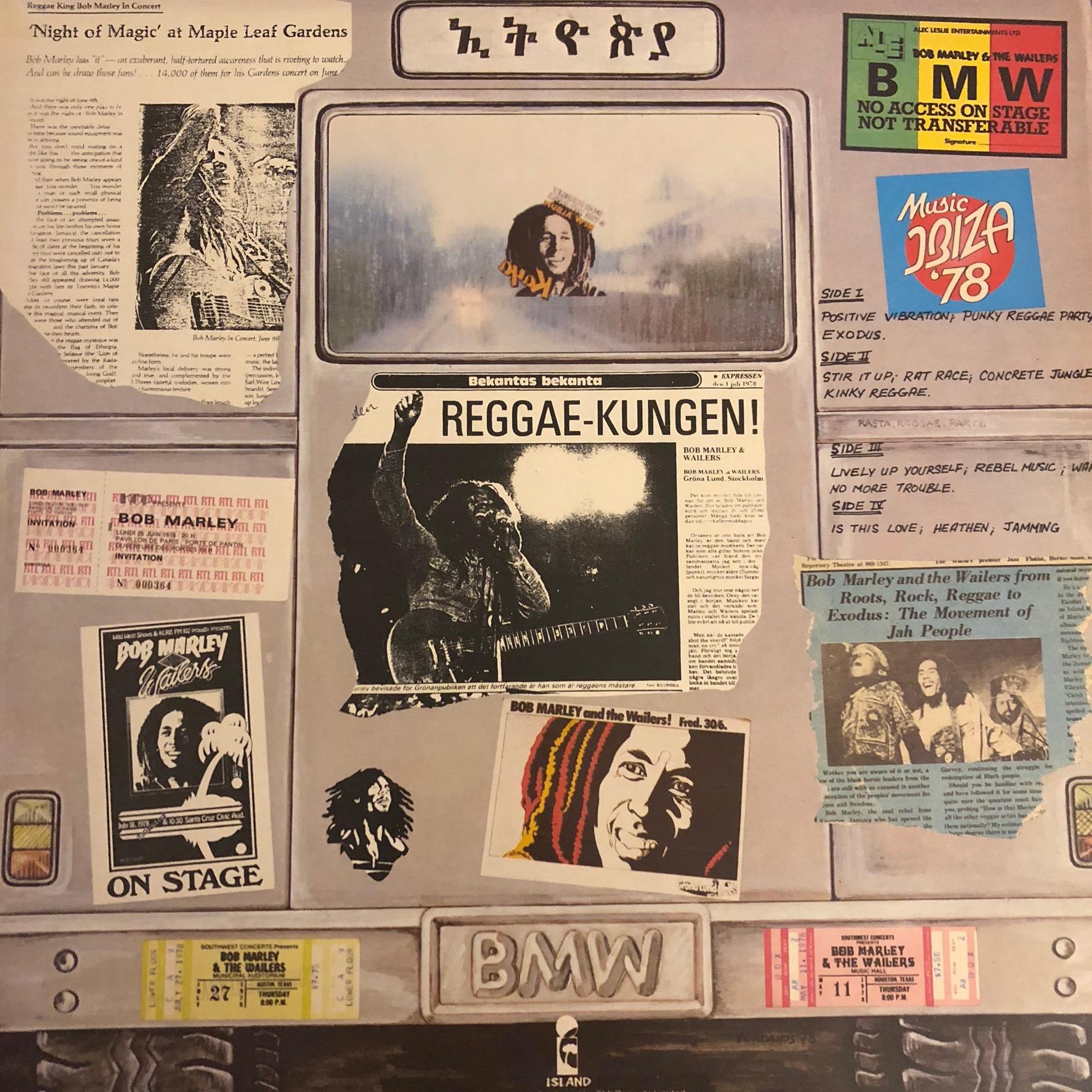 Bob Marley - Babylon by bus - Back Cover