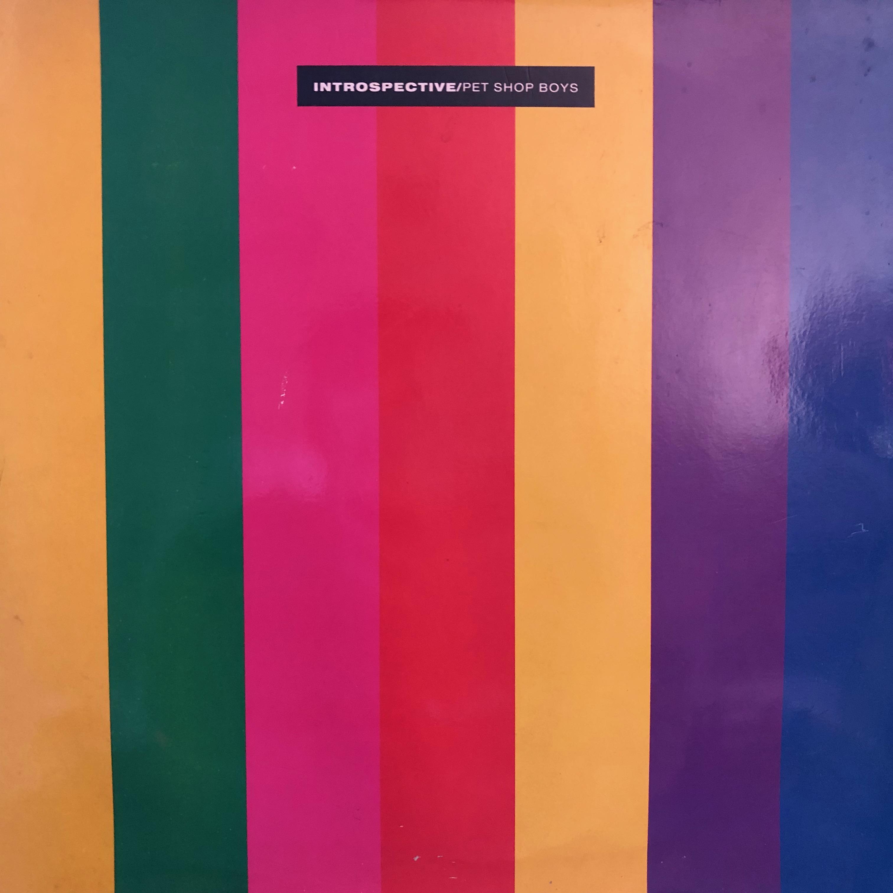 Pet Shop Boys - Introspective - Front Cover