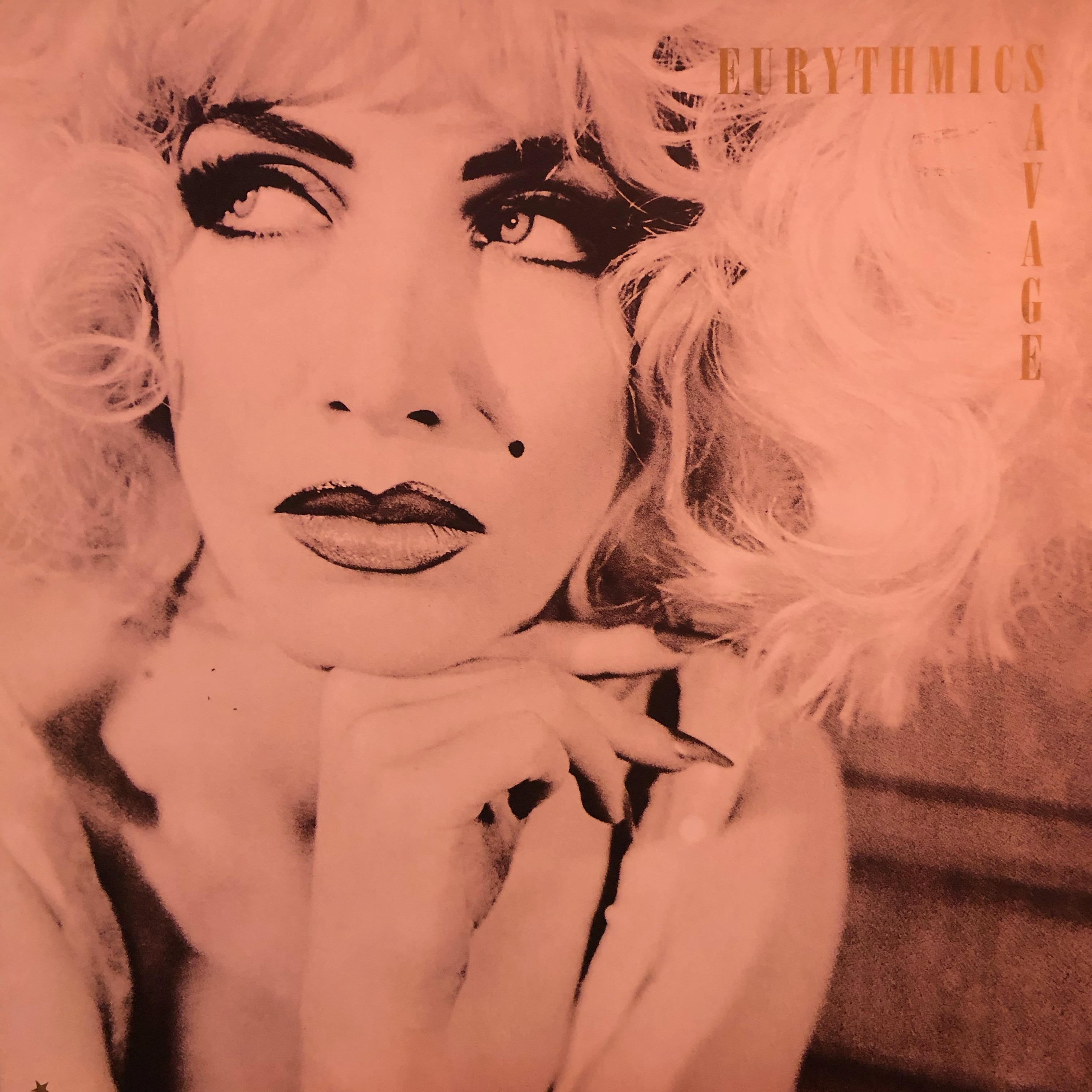 Eurythmics - Savage - Front Cover