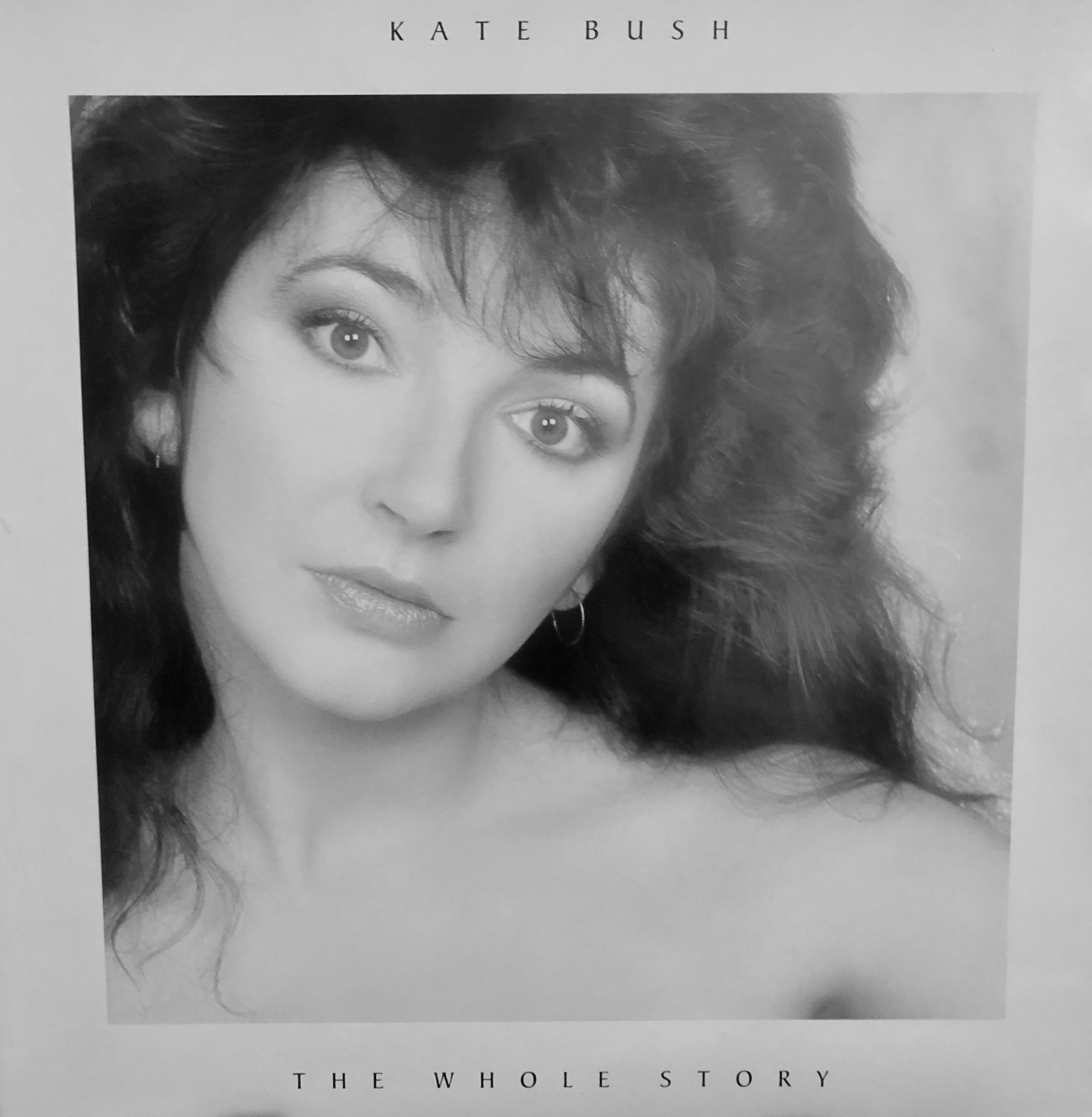 Kate Bush - The Whole Story - Front Cover