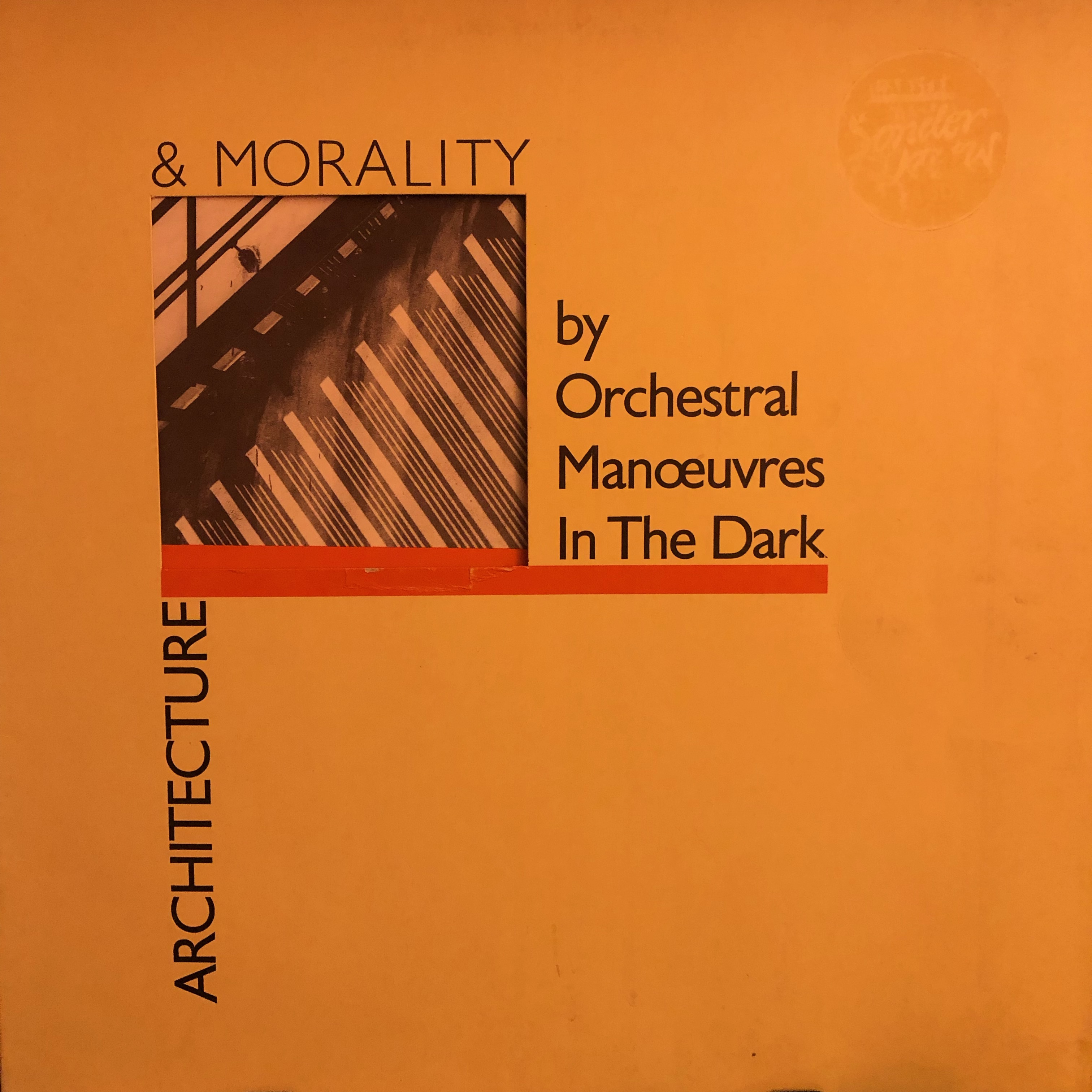 OMD - Architecture and Morality - Front Cover
