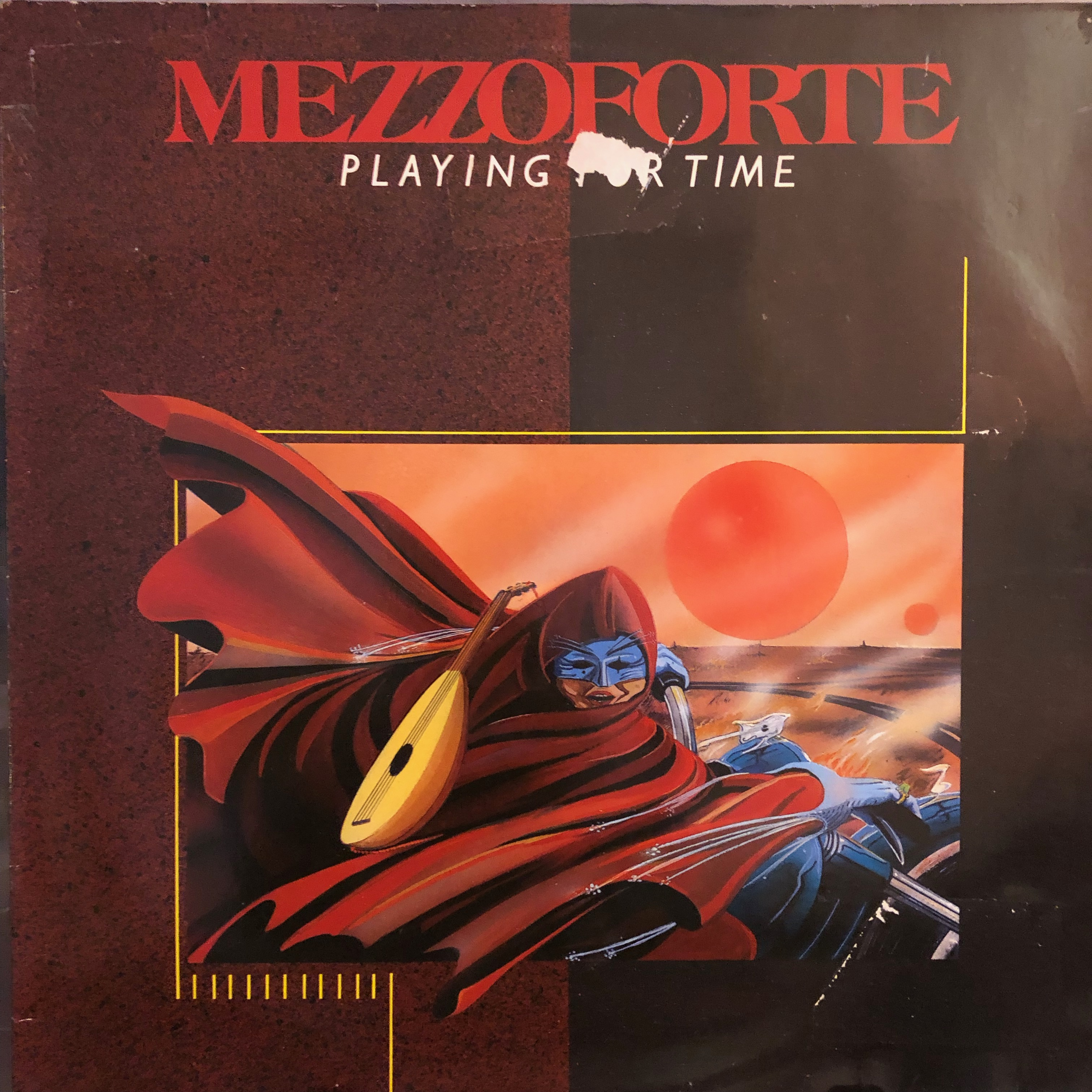 Mezzoforte - Playing for time - Front Cover